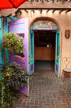 Lots of color and adobe in Santa Fe