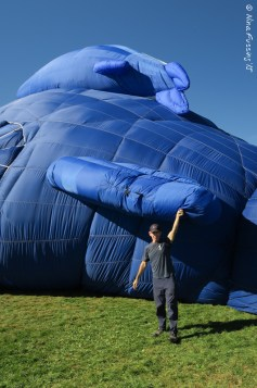 Paul helping inflate