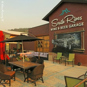 South Rims Wine & Beer Garage is superb
