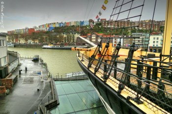 The bow of the mighty SS Great Britain