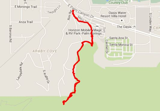 The Araby Trail Map