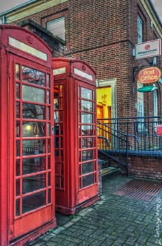 Not many of these classic phone booths left anymore