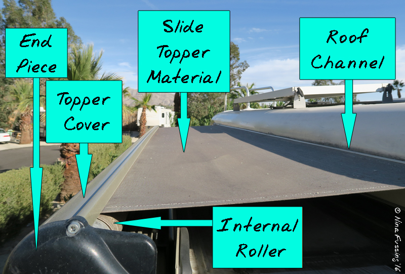Easy Rv Mod Gt Slide Topper Replacement With Tough Top