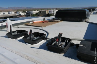 Our rooftop combiner boxes