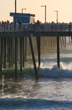 Waves and Pier