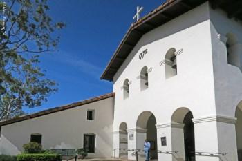 Pretty Mission San Luis Obispo de Tolosa