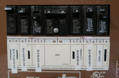 "Our ""new"" old main panel"