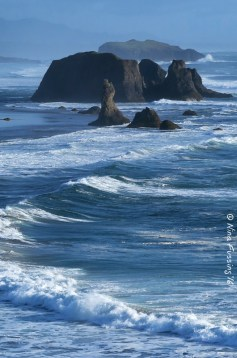 Bandon sea stacks