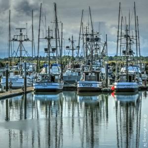 The port of Ilwaco