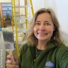 Painting & Discovering Coastal Military History – Fort Columbia, WA