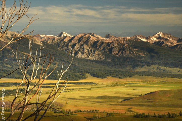 The Sawtooth Mountains are DROP DEAD gorgeous!