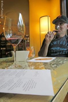 Winery tasting...yummy!