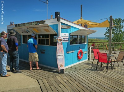 The tasty (and dog-friendly) Tawas Point Grill