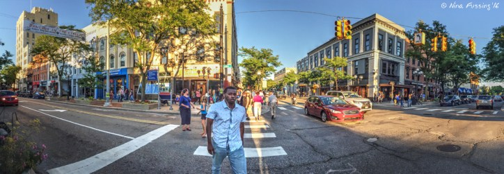 Downtown Ann Arbor is young, hip and happening!