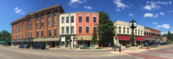 Laid-back and cute downtown Ypsi