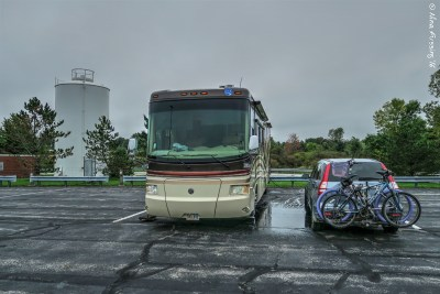 Our overnight stop on the OH Turnpike