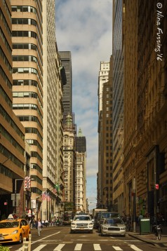 Financial District Streets