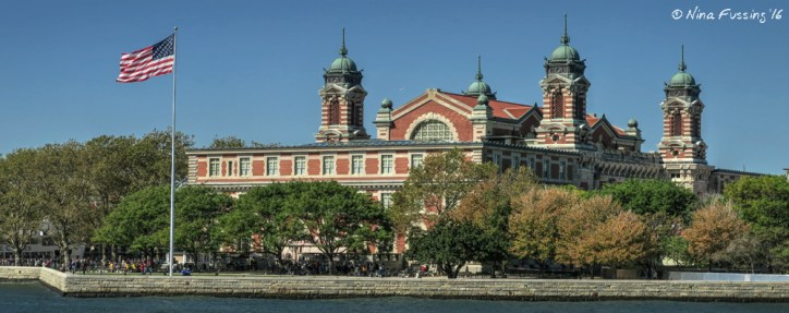 Ellis Island. It's amazing to think over 12 million people immigrated through this building.