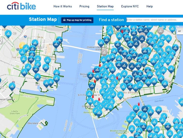 Citibike stations are EVERYWHERE in the city