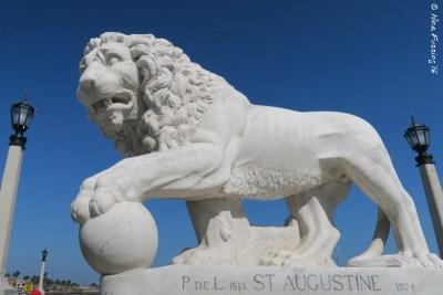 The St Augustine Bridge Lion