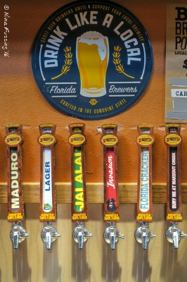 The taps at Cigar City