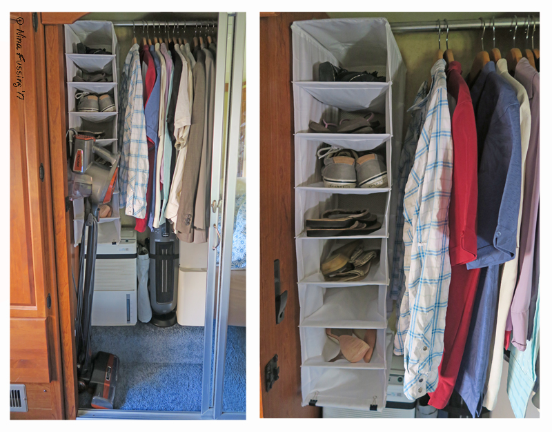 Our U201cnewu201d Closet Space With Shoes In All Neat And Tidy (sorry, No Before  Pics)