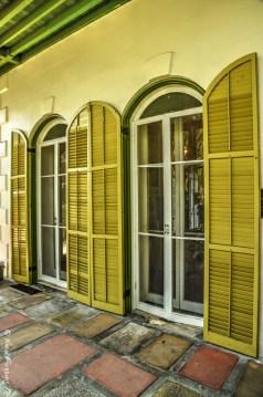 Hemingway House shutters