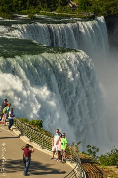 View from above American Falls