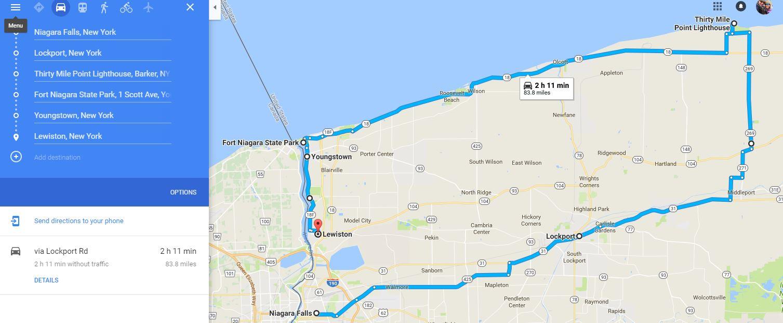 Exploring Around Niagara Falls US Canadian Sides Wheeling It