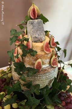 The Wedding Cheese Tower