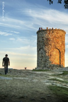 The tower atop Mt Battie
