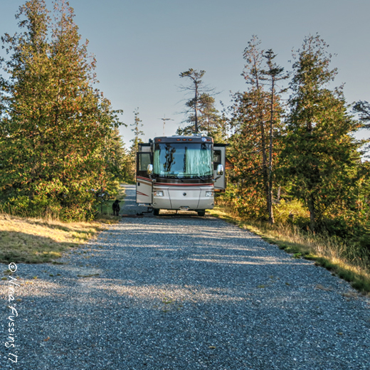 Warriors Path State Park Pennsylvania: Schoodic Woods, Acadia National