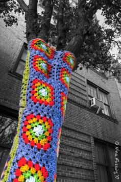 Crochet trees