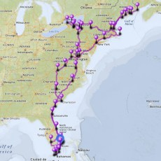 2017 In Review -> 5,247 Miles Of Tip-To-Tip East Coast Explorations