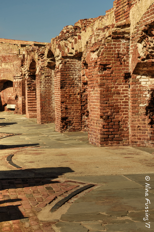 Fort Sumter Brickwork