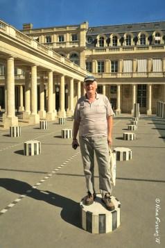 Dad at the Palais Royal