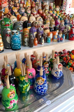Colorful figurines
