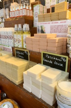 Artisan soaps in Toulouse