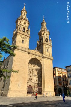 The Cathedral of Logroño