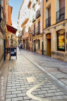 Old town Logrono alleyways