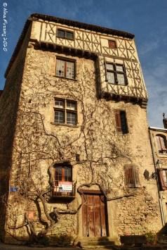 """La maison Haute"" built in the 16th century"