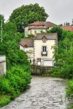The river by Pontgibaud