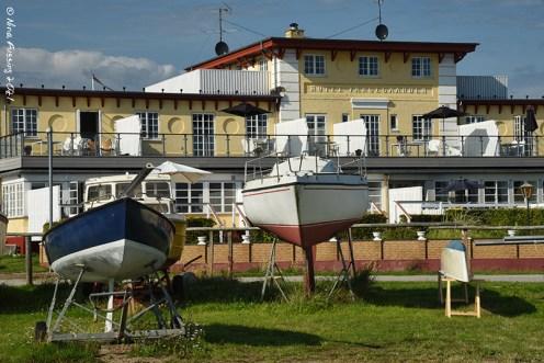 Marina buildings
