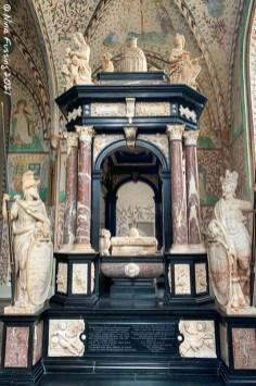 "Sarcophagus of Frederik 2, the ""Renaissance King"""