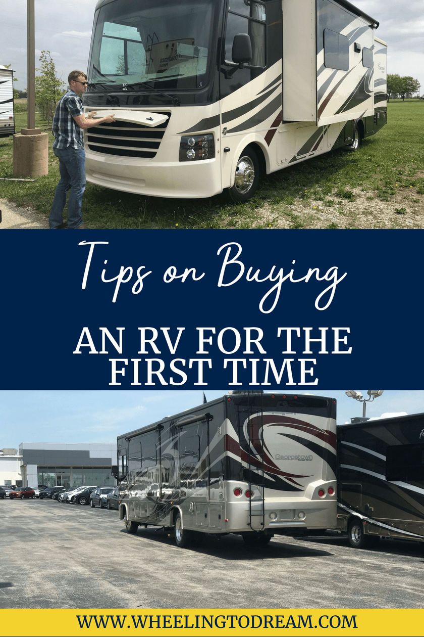Tips on Buying an RV For the First Time