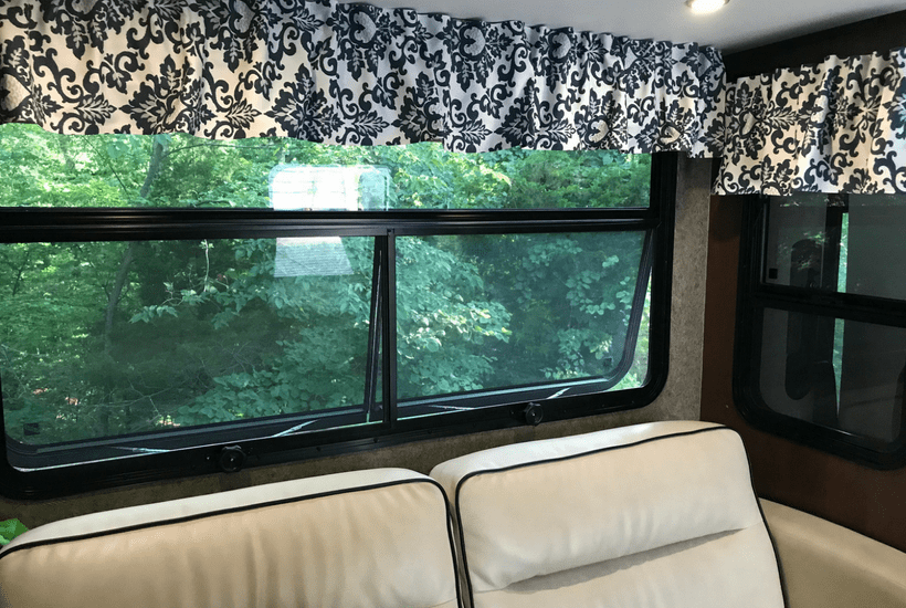 How To Re-Cover RV Window Valances (No Sewing!)