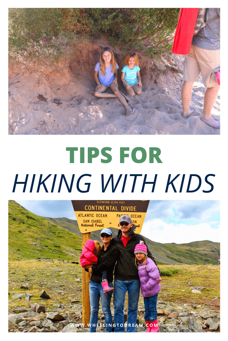 Hiking with kids can be a mess if you aren't prepared. You are bound to end your hiking trip early and have cranky kids. Make quality family time while hiking with kids fun. We like to include hiking with kids activities that allow the kids freedom to have fun. Hiking is one of our favorite outdoor activities for family time. Check out our tips for making hiking fun for the whole family!