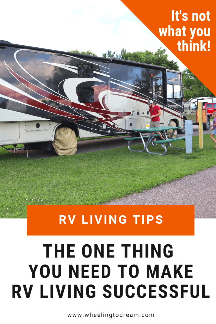 The ONE Thing You Need to Make Living in a Motorhome With a Family Successful