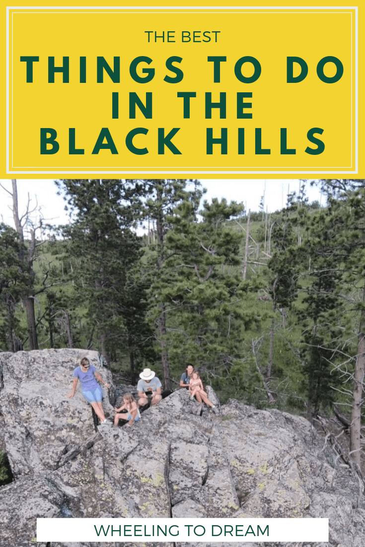 Are you looking for things to do in the Black Hills South Dakota? You're in luck because this summer we spent a week discovering the area including hitting some of the top attractions.We detail things to do in the Black Hills South Dakota with kids. Our trip to Hill City, SD was a lot of fun. We did some off road trail riding as well as boondocking in our RV. We also enjoyed hiking with kids, visiting Mount Rushmore with kids and more! #hillcity #blackhillssouthdakota #blackhills #rvliving