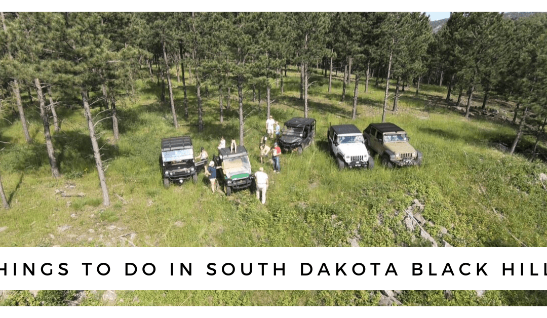 Things to Do in the Black Hills: Jeep Trail Riding & Camping